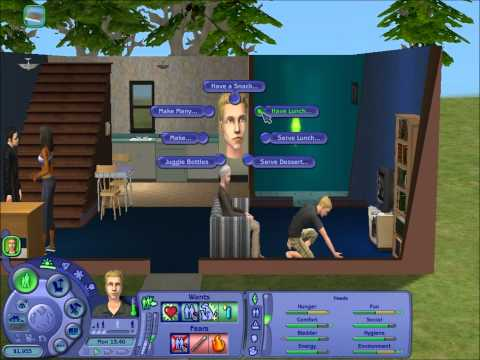 Let's Play - The Sims 2 Part 1 - Creating a Sim and Moving Inn (No Commentary)