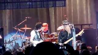 ZZ Top (with Jeff Beck) - La Grange - Chateau Ste Michelle - Woodinville WA - 8-9-2014