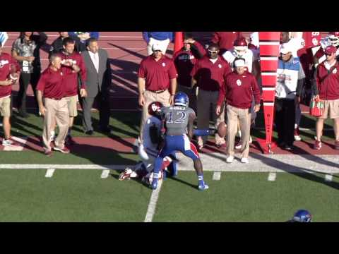 JaCorey Shepherd INT vs Oklahoma // Bob Davis Radio Call