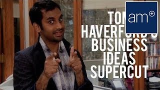Aziz Ansari's Ridiculous Business Ideas Supercut of Parks and Recreation