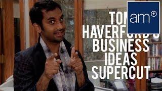 Aziz Ansari's Ridiculous Business Ideas Supercut of Parks and Recreation