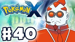 Pokemon X And Y Gameplay Walkthrough Part 40 The