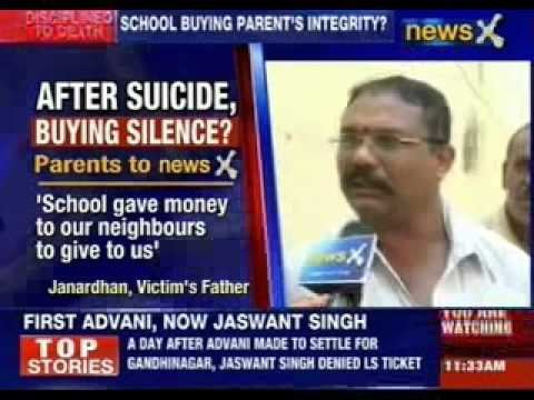 Bangalore school shocker: School buying parent's integrity?