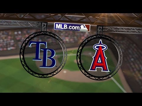 5/18/14: Pujols' two homers power Angels past Rays