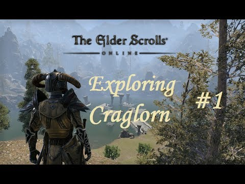 The Elder Scrolls Online: Exploring Craglorn (Part 1) Dark Elf Battlemage - Aldmeri Dominion