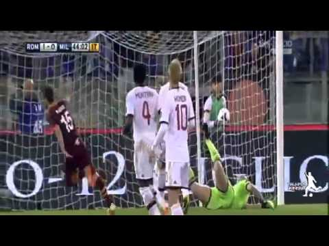 AS Roma vs AC Milan 2 0 All Goals   Highlights 25 04 2014   YouTube