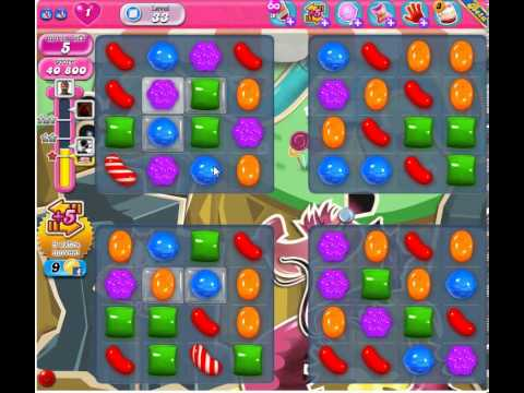 Candy Crush Saga Level - 33 - YouTube
