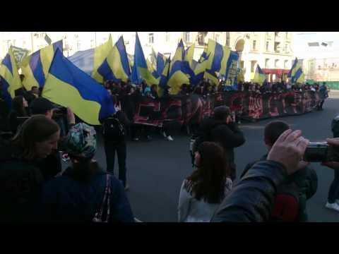 Митинг Харьков 30.04.2014. Путин Х*йло