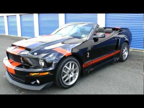 Cervini's Ford Mustang Shelby GT500 Rev and Walk Around