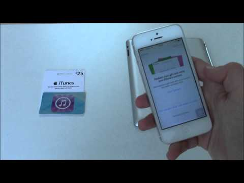 How to Put an App Store/iTunes Gift Card Using Your Camera - On iPhone, iPad & iPod Touch