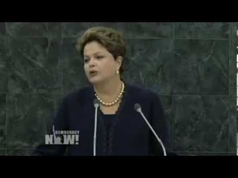 VIDEO: At U.N. General Assembly, Brazilian President Dilma Rousseff Blasts U.S. Spying Operations