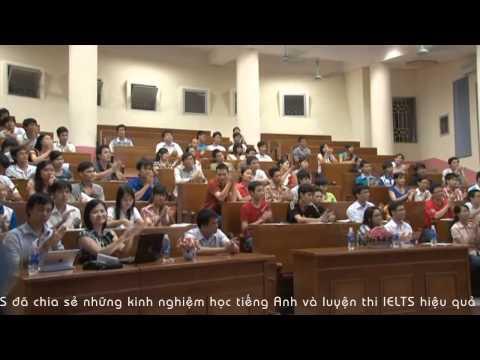 Hội thảo chia sẻ kinh nghiệm học tiếng Anh và luyện thi IELTS hiệu quả tại DHQG