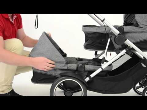 Phil & Teds Phil & Ted's Voyager Pushchair Blue Marl