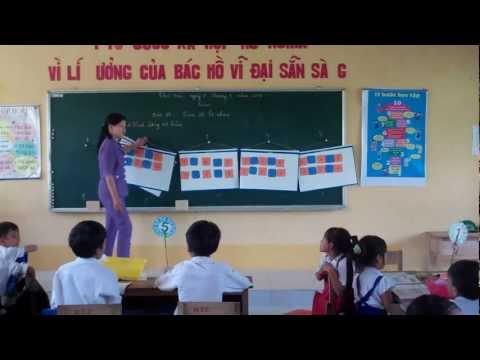 VNEN School: Hieu Tu C Primary School VNEN class teaching. Tra Vinh province. Vietnam
