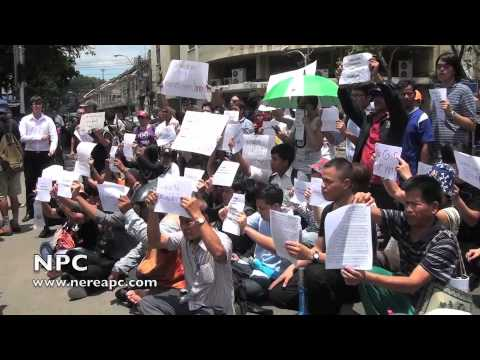 Thailand: Anti-coup protesters rally in Bangkok #2 23.05.2014