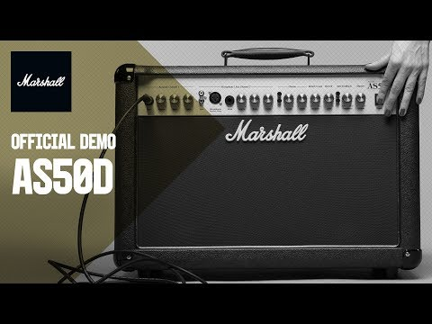 Marshall AS50D 50 Watt Acoustic Combo Amplifier