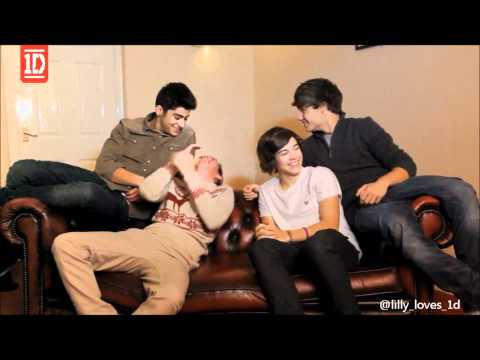Niall Horan laugh in video diary-for 3 minutes