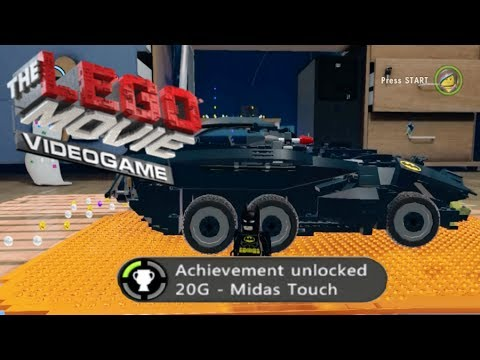 The Lego Movie Videogame - Complete all Golden Instruction Builds Achievement/Trophy Guide