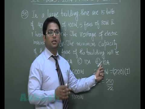 JEE (Main) 2014 Solutions-Physics Paper [Q-31 to Q-34] By Aakash