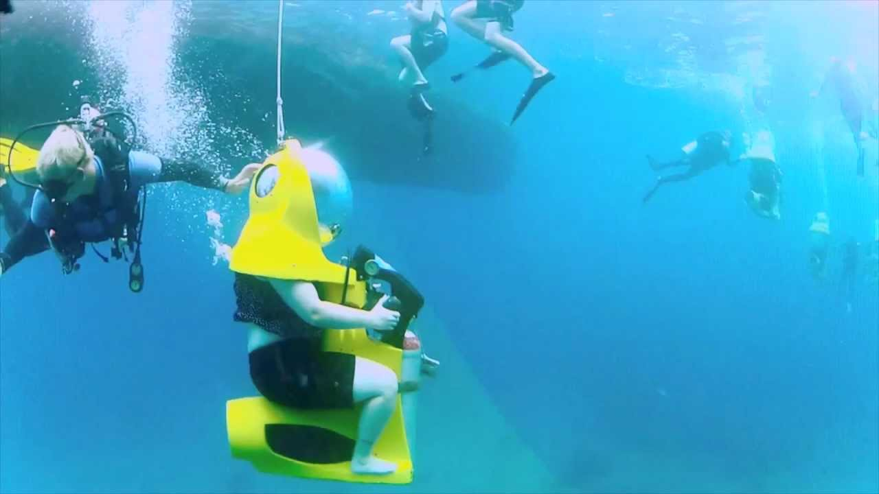 Boss Adventures Underwater Scooter St Thomas V I