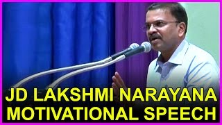 JD Lakshmi Narayana's inspirational speech @ Medical College ,Guntur