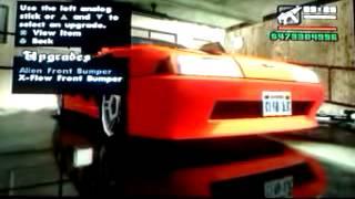 GTA San Andreas . Como Modificar Un Auto En PS2