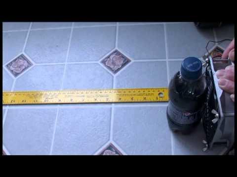 San Ace fan 9HV1248P1G001 test of strength