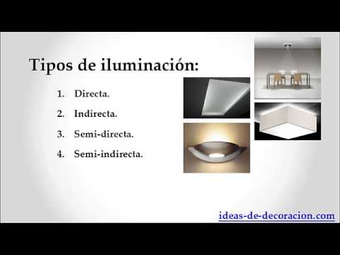 Diseño de iluminación de interiores. La iluminación para el decorador.