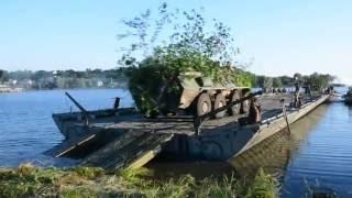 Командно-штабні навчання «Літня гроза - 2016»: Українські військові вперше здійснили форсування Дніпра