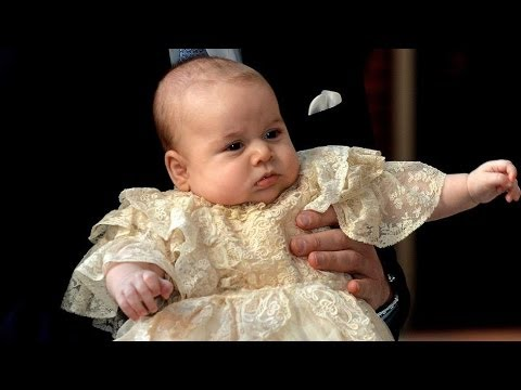 Prince George Christened At St James's Palace Baptism of Kate Middleton Prince William baby