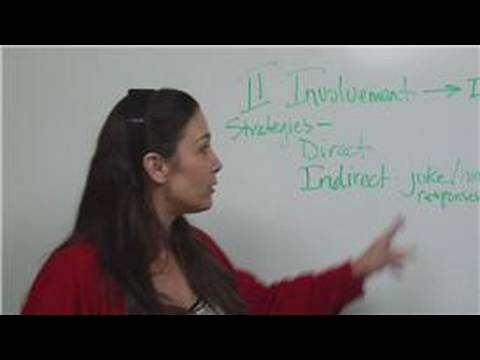How to Build Relationships: Strategies in Involvement Stage