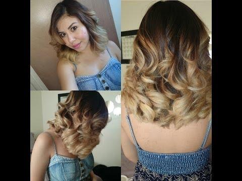 Como pinte mi cabello Ombre!/ Mechas Californianas