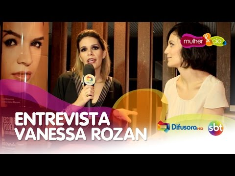 Entrevista com Vanessa Rozan