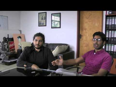 Hafiz and Nadeem Juma, AIM Group, discuss digital content in Tanzania