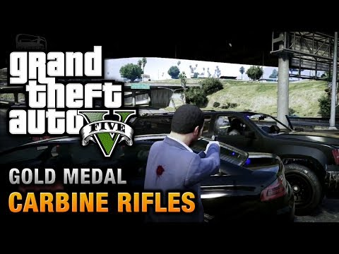 GTA 5 - Mission #12 - Carbine Rifles [100% Gold Medal Walkthrough],