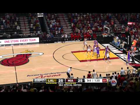 NBA Live 14 - Lakers vs Heat [PS4]