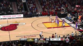 NBA Live 14 Lakers Vs Heat [PS4]