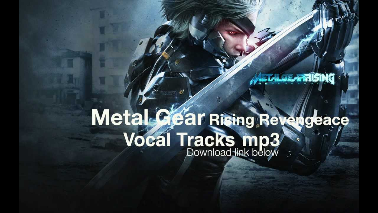 Metal Gear Rising Revengeance Vocal Tracks Torrent