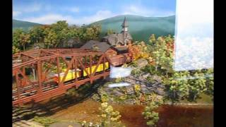 HO Scale Model Train Layout At The B&O Railroad Museum