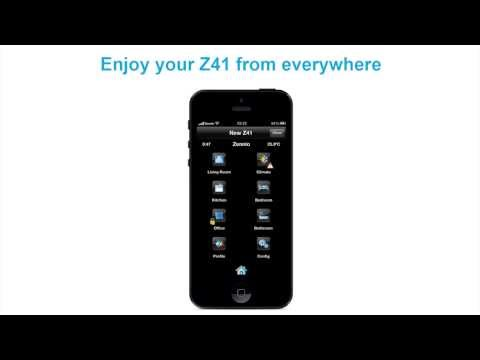 Z41 REMOTE - Zennio APP for KNX remote control.