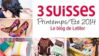 3 Suisses Printemps/Ete 2014 Pressday
