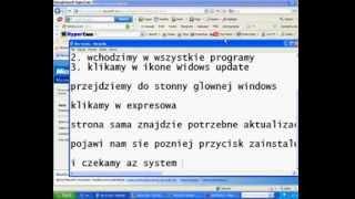Jak Zaktualizować System Windows XP