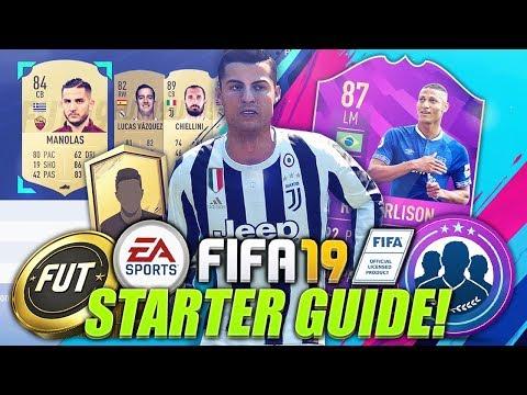 HOW TO START FIFA 19! (Web App Trading & Investing Tips, Starter Packs & More!)