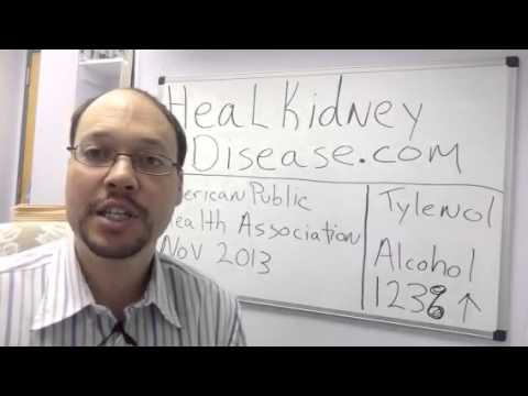 Tylenol and Alcohol Damage The Kidneys | Avoid For Kidney Disease