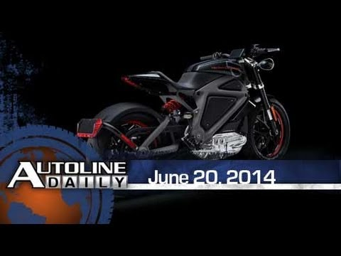 Harley Reveals its First Electric Motorcycle - Autoline Daily 1402