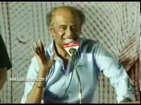 Rajini speech about GOD