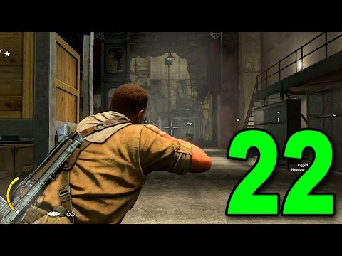 Sniper Elite III - Part 22 (Let's Play / Walkthrough / Playthrough on PC)