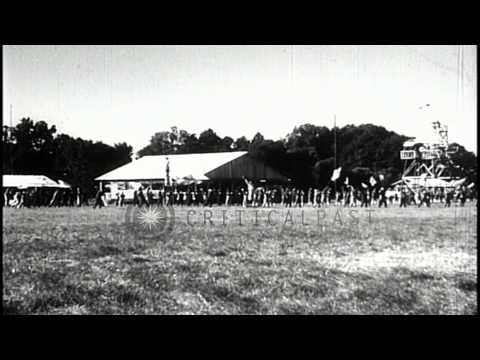 Japanese warplanes take off from an airfield in the Pacific. Pilots given big sen...HD Stock Footage