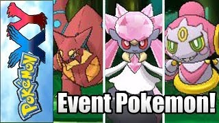 Pokemon X And Y New Legendary Event Pokemon Diancie