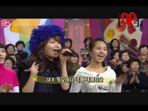 수리 SooRi # 6 - Sooyoung and Yuri Singing Tell Me - YouTube